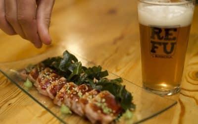 Maridaje de cerveza y comida