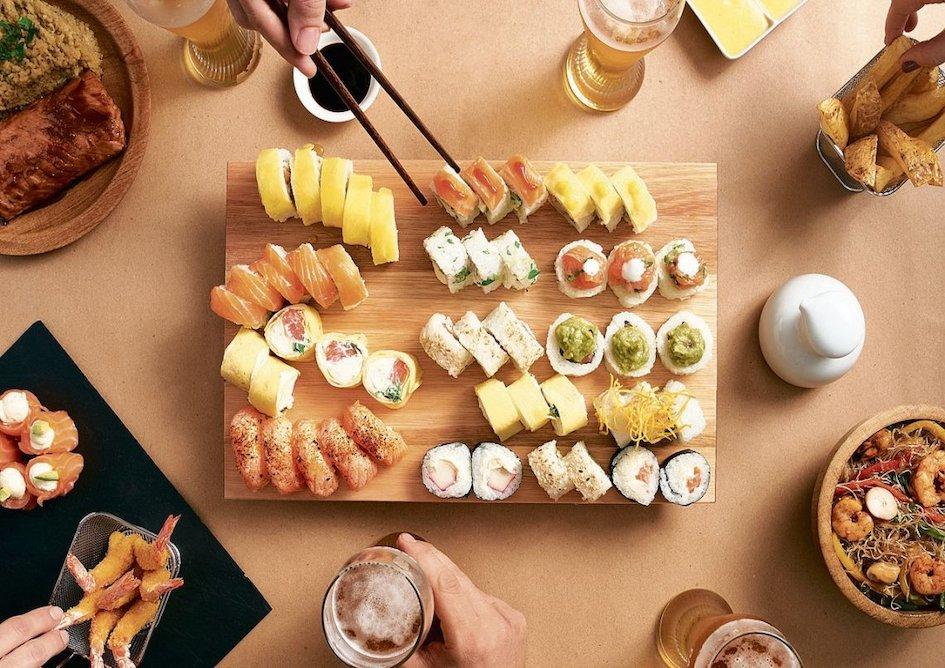 Maridaje cerveza y sushi